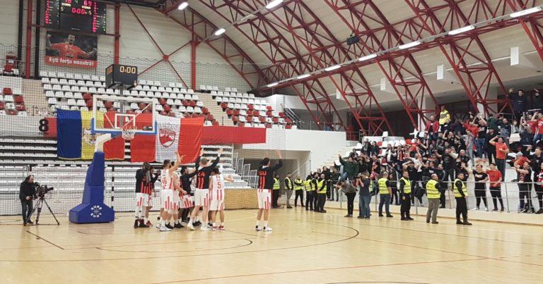 Baschetbaliștii de la Dinamo Știința au învins-o pe marea rivală Steaua în sferturile Cupei României