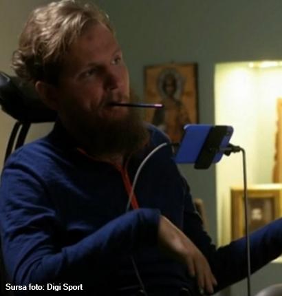 Evoluție incredibilă a fotalistului Mihăiță Neșu, de aproape 10 ani paralizat: Sunt într-un cantonament continuu