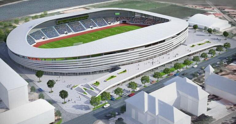 Incredibil! Stadion de peste 45 milioane euro în orașul cu nicio echipă de fotbal în Liga I sau a II-a din România