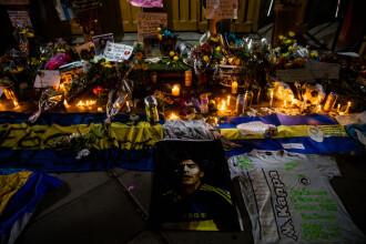 Când va fi înmormântat Maradona. Imagini în direct de la priveghi