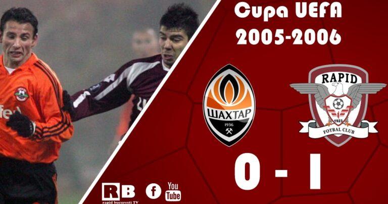 Rezultat memorabil pentru o echipă românească, cu 15 ani în urmă