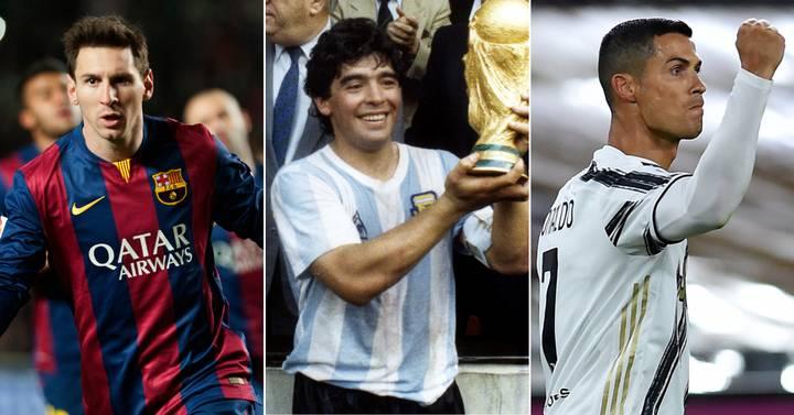 Ronaldo și Messi, tribut pentru Maradona. Legenda fotbalului argentinian îi lăudase pe cei doi, în urmă cu doar o lună