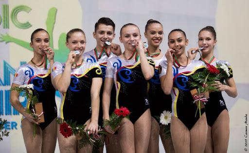 Rezultat remarcabil pentru gimnastica aerobică din România!