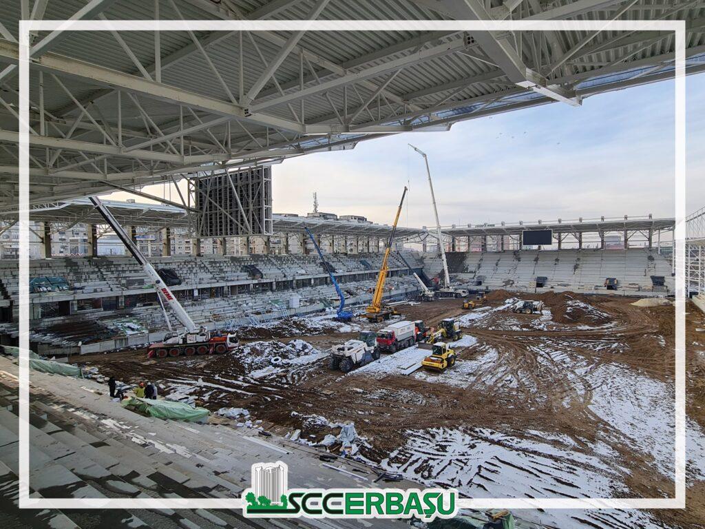 Stadiu lucrări Rapid Arena